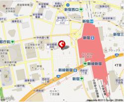 カフェ・カトル・ヴァン・ヌフの地図