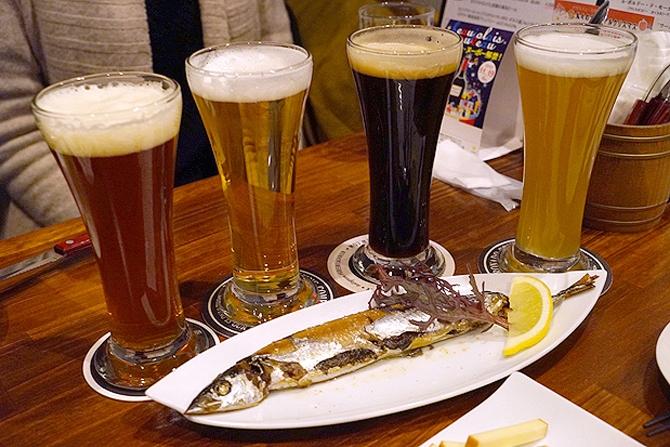静岡の名店「ビアバール丸々」が東京進出!生クラフトビールとタパスが充実してました