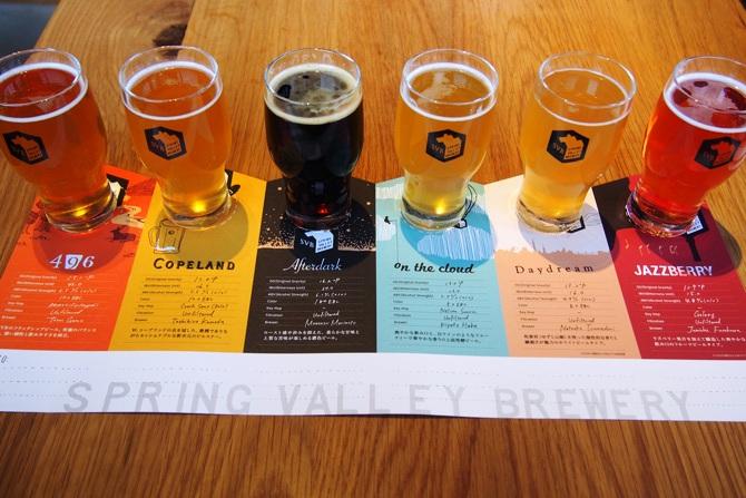 【代官山にビール醸造所】1000円で6種類のビール飲み比べができるビアレストラン