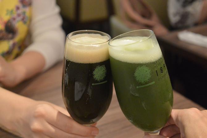 抹茶ビールで健康に!?茶葉の栄養と苦味が合体するとメチャ旨ビールになりました
