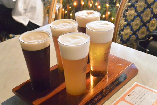 ビールにこだわる方必見!「樽生ビール5種飲み比べ」ができる世界のビール博物館